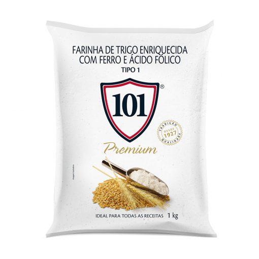 Farinha de Trigo 101 Premium 1 Kg - 09630