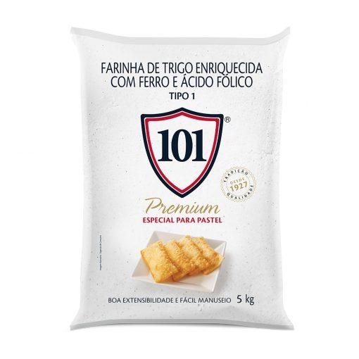 Farinha de Trigo para Pastel 101 Premium 5 Kg - 09626